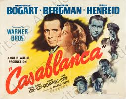 """Was that cannon fire, or is it my heart pounding?"" from the movie Casablanca"